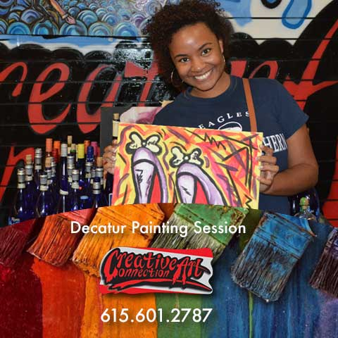 Creative Art Connection BYOB ART DECATUR AND DULUTH STUDIOS