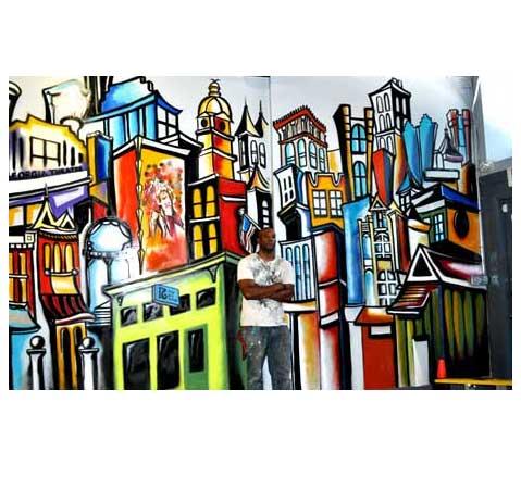 Corey barksdale available art for sale and atlanta mural for Atlanta mural artist