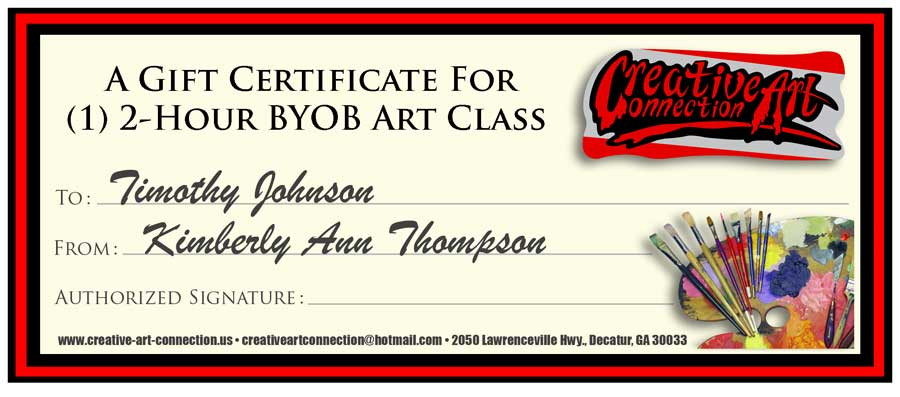 Buy a gift certificate for a friend byob art class in decatur atlanta performance art decatur art festival atlanta outdoor art festival art gallery yadclub Image collections